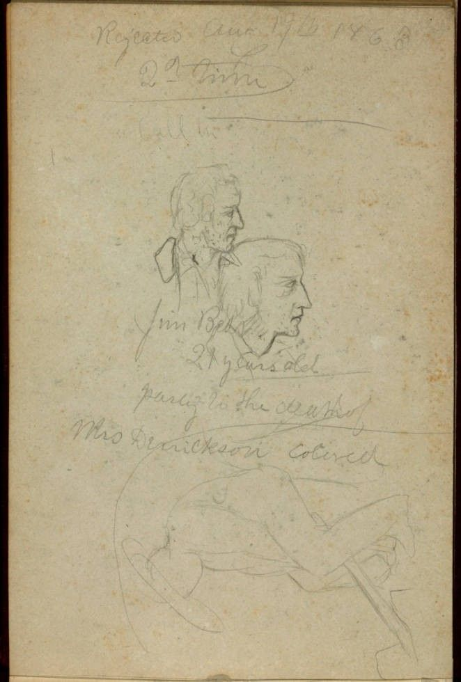 From a sketchbook filled with scenes of daily life, the New-York Historical Society has digitized 13 sketches of the Draft Riots of July 13-16, 1863.