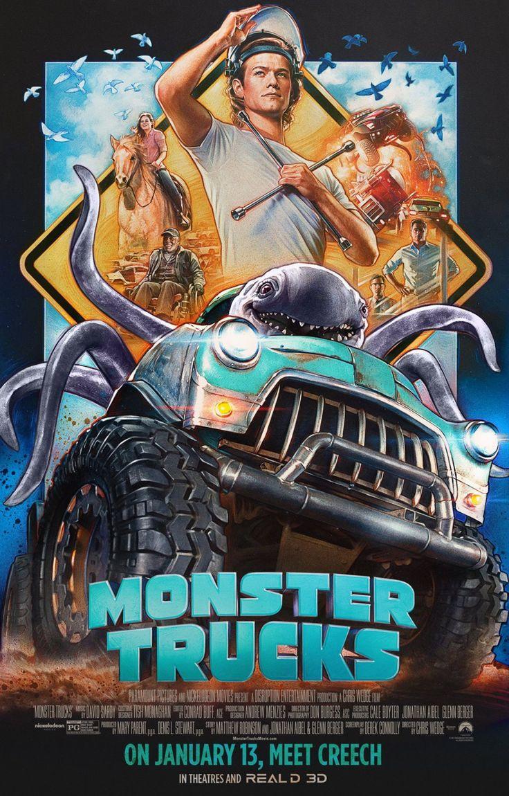 Monster Trucks (2016) directed by: Chris Wedge starring: Jane Levy, Lucas Till, Frank Whaley, Danny Glover