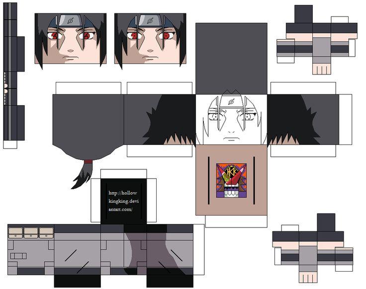 anbu itachi by hollowkingking on deviantART | Cubecraft ...