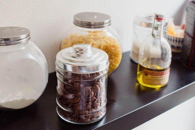 Afin de réduire ces déchets Pauline @twinscook achète en vrac et conserve dans des bocaux BABOU : les gros sont à 2€49 l'unité et les petits à 1€99.