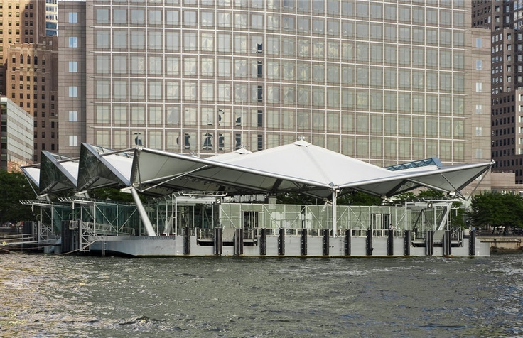 Port Authority Ferry Terminal at the World Financial Center Design Exterior 1