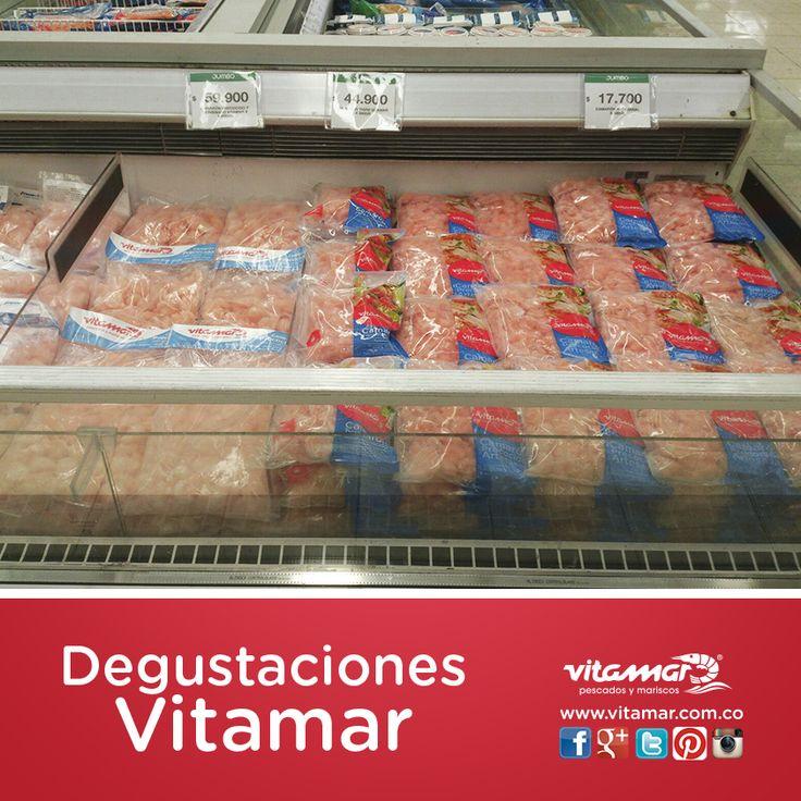 Así se vivió y se compartió con nuestros clientes el día de degustaciones en el  Éxito Poblado  con @VitamarPescados.  NO DEJES PASAR NUESTRO PRÓXIMOS DÍAS  ¡Inicia nuestro recorrido de degustaciones Vitamar! con lo mejor en #Pescados y #Mariscos  www.vitamar.com.co