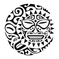 soleluna, sun, moon, tiki, manaia, shark teeth, koru, nothing is impossible, protection, new beginning, strength, adaptability, union