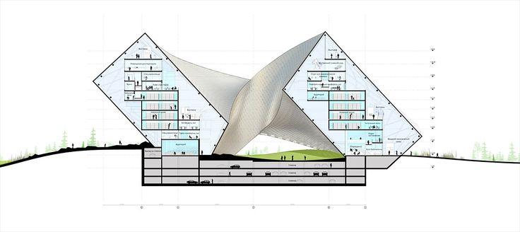 O escritório dinamarquês BIG foi o vencedor do Concurso Internacional para o projeto da Biblioteca Nacional do Cazaquistão, a ser construída em Astana, capital do país. O concurso reuniu 19 concorr…