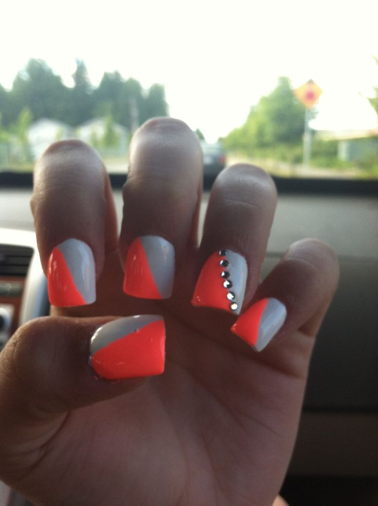 126 best Acrylic nails images on Pinterest | Belle nails, Cute nails ...