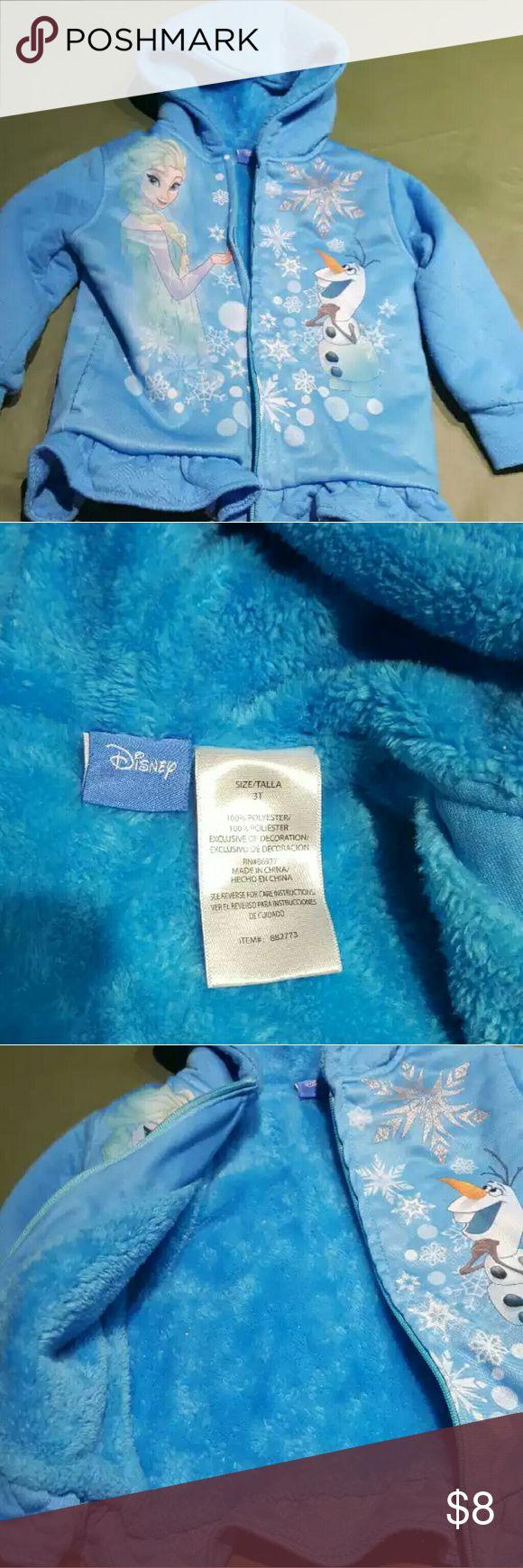 Disney Frozen hoodie 3T Warm and soft hoodie for girls 3T Disney Frozen  Shirts & Tops Sweatshirts & Hoodies