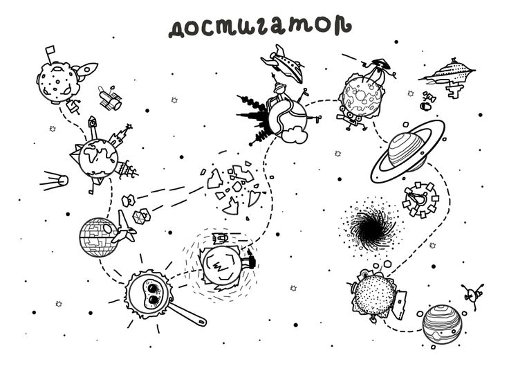 Большой достигатор «Планеты»