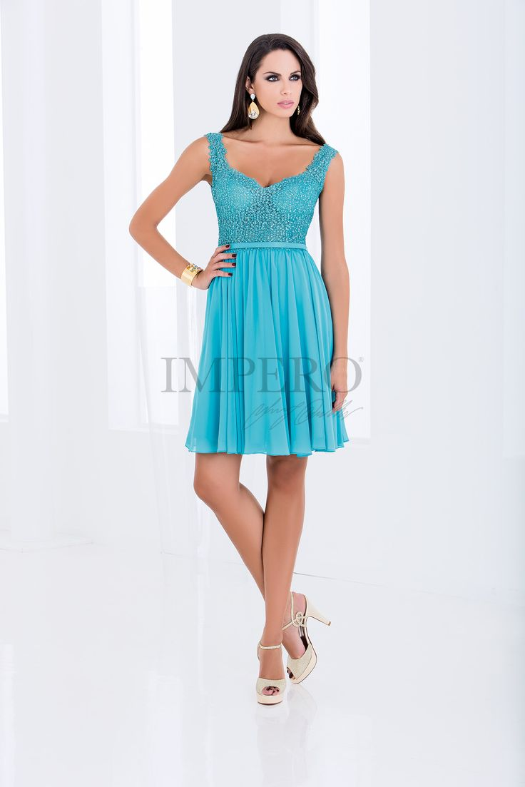 DS 2061C #abiti #dress #wedding #matrimonio #cerimonia #party #event #damigelle #turchese #turquoise