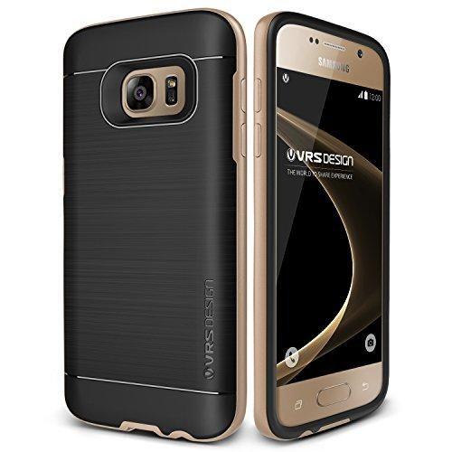 Oferta: 16.99€ Dto: -43%. Comprar Ofertas de Funda Galaxy S7, VRS Design [High Pro Shield][Oro] -[Shock- Absorción Case][Resistente a los arañazos Cover][Protección][Fund barato. ¡Mira las ofertas!