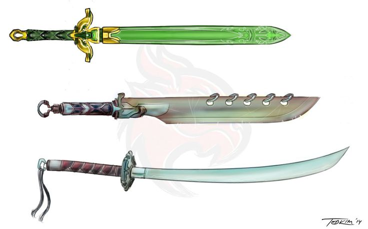 Weapons set A