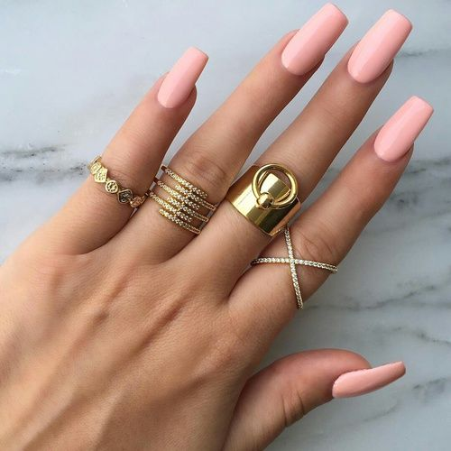 The 25 best types of nails shapes ideas on pinterest coffin nails pink and rings prinsesfo Gallery