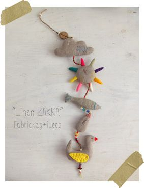 Handmade*zakka | fabrickaz+idees - very sweet japaneese blog!