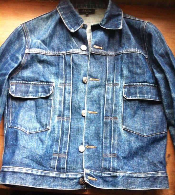 「apc denim jacket」の画像検索結果