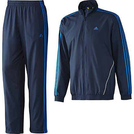 Men's 3-Stripes Basics Track Suit, Collenavy, pdp