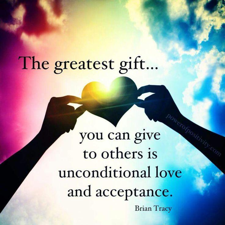 Resultado de imagen de Unconditional love - acceptance