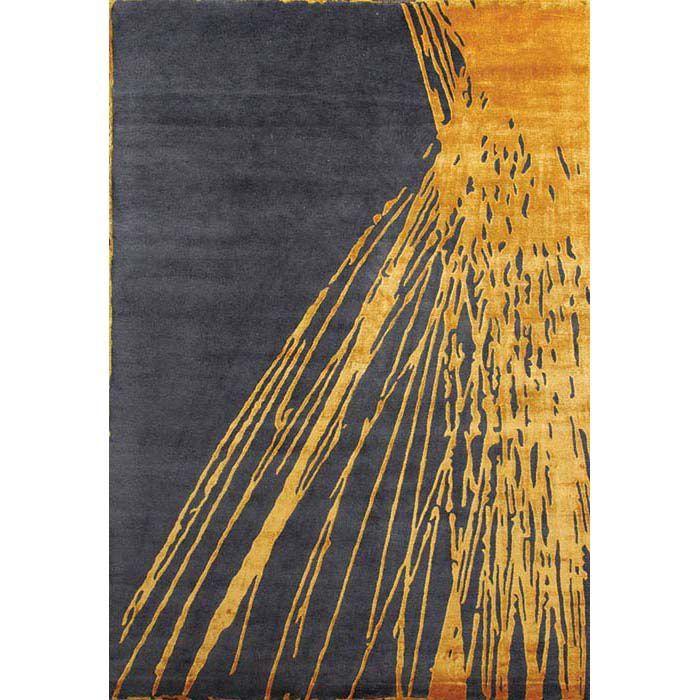 Ковер Серо-золотой водопад Waterfall Grey Gold #carpet #rug #interior #designer #ковер #дизайн