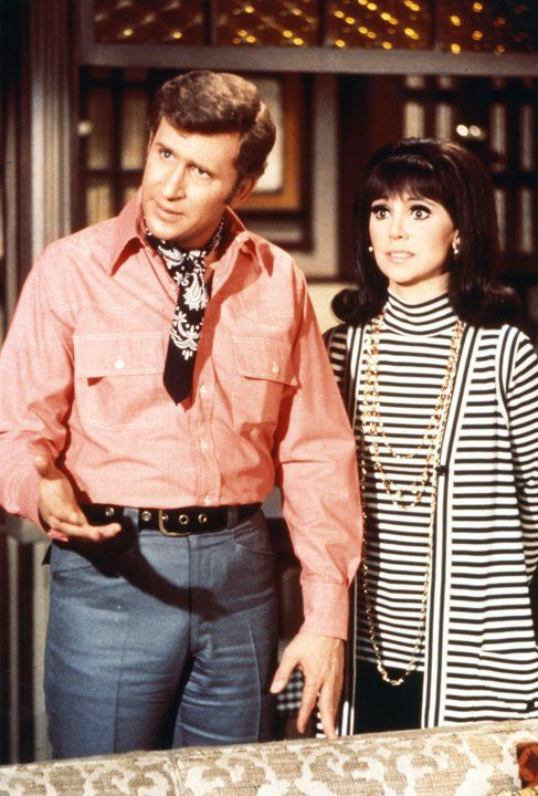 Ted Bessell & Marlo Thomas in That Girl.  I saw a photo once of my Birth Mother and this is who I thought she looked like.  I loved this show