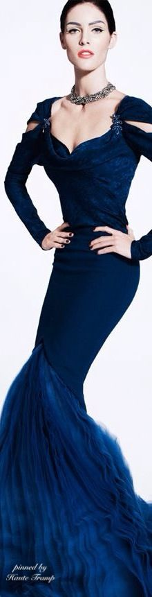Zac Posen, ht/The bottom of this dress is gorgeous;)