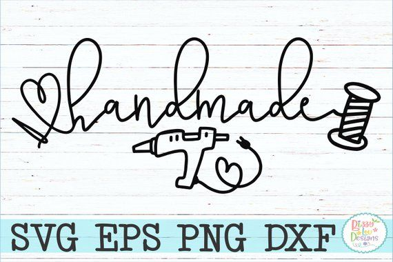 Handmade svg, eps, dxf, png sewing svg embroidery svg sewing cutting