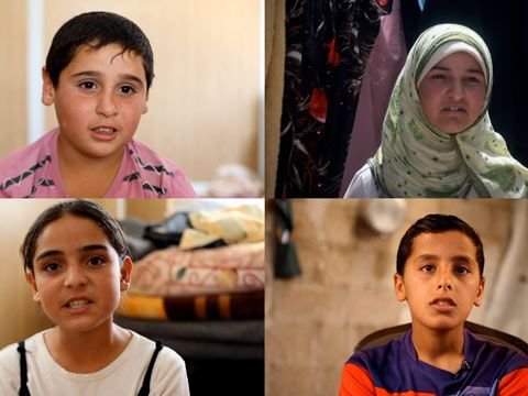 The Syrian refugee crisis in numbers - video animation