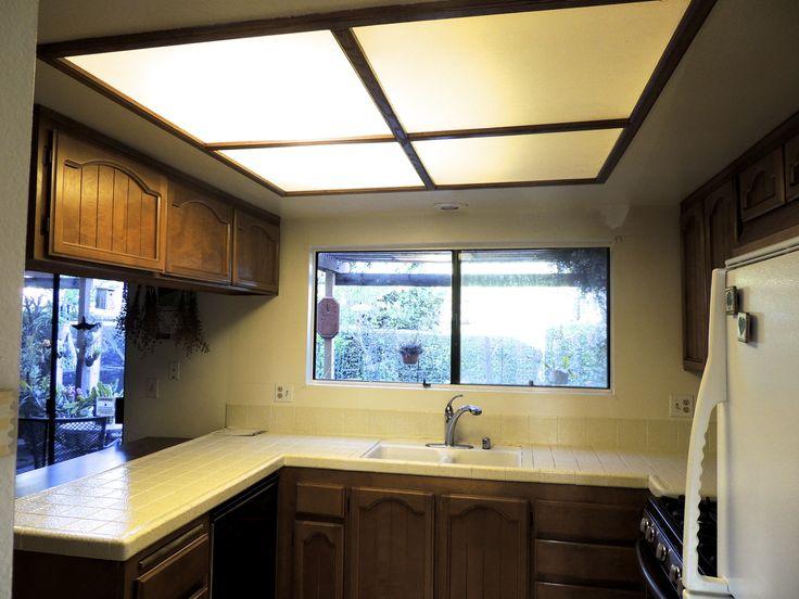 Fluorescent Light Fixtures For Kitchen Ceilings