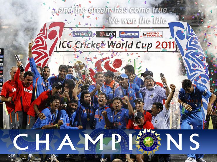 Cricket World Cup 2011 | Winning Team India