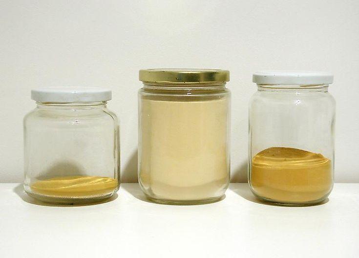 Pollen Jars on Corner Shelf, 2003