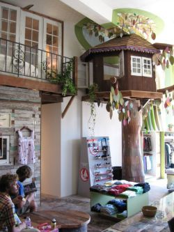 treehouse inside the living room great idea for any house