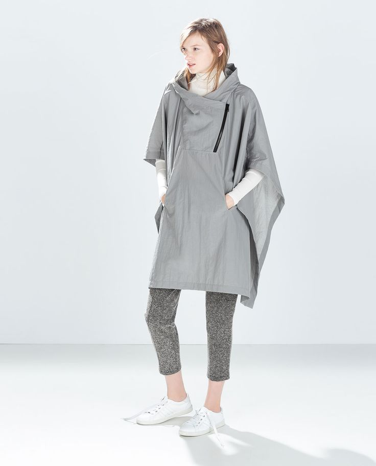 ZARA - WOMAN - WATERPROOF PONCHO