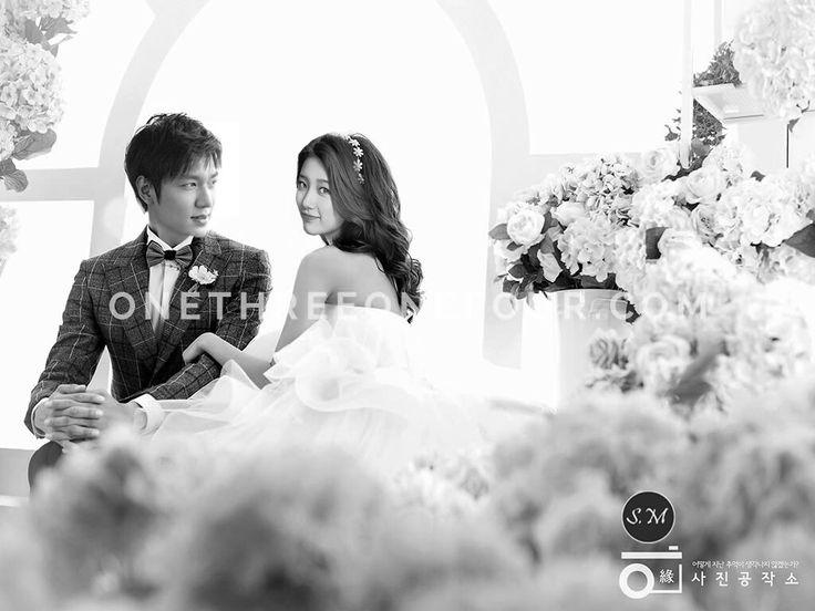 Lee Min Ho and Bae Suzy wedding dress