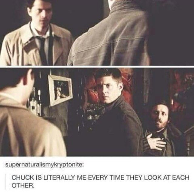 Dean and Cas are God's OTP