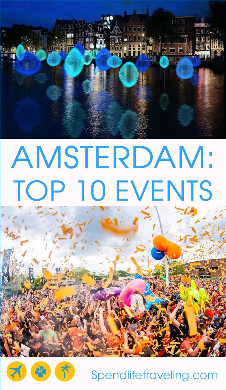 Top 10 Annual Events in Amsterdam