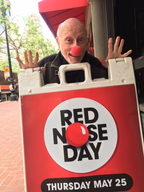 Allen Klein, Red Nose Day 2017