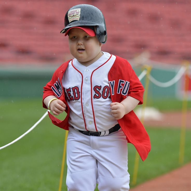 Dana-Farber Jimmy Fund Clinic patient Asher, age 5, was one of 23 patients who participated in John Hancock Fenway Fantasy Day this year. The event raised more than $215,000 for Dana-Farber Cancer Institute and the Jimmy Fund, and more than $7.5 million since its inception in 1992. We're extremely proud to partner with John Hancock in our ongoing mission to conquer cancer.