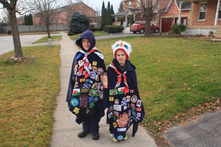 Ready to support the Santa parade!