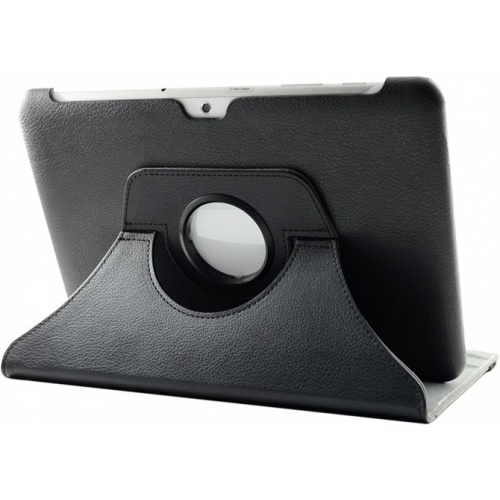 360° Rotating Black Leather Stand Case for SamSung Galaxy Tab 2 10.1 P5100/P5110 US$15.99