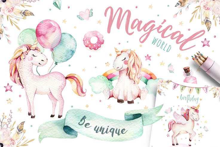 Magical world by Krystsina Kvilis available for $18.90 at DesignBundles.net