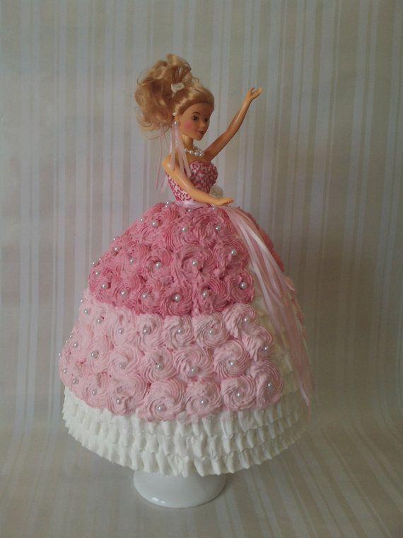 487 Best Doll Cakes Images On Pinterest Barbie Cake