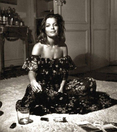chaos.  :) i like it. Romy Schneider