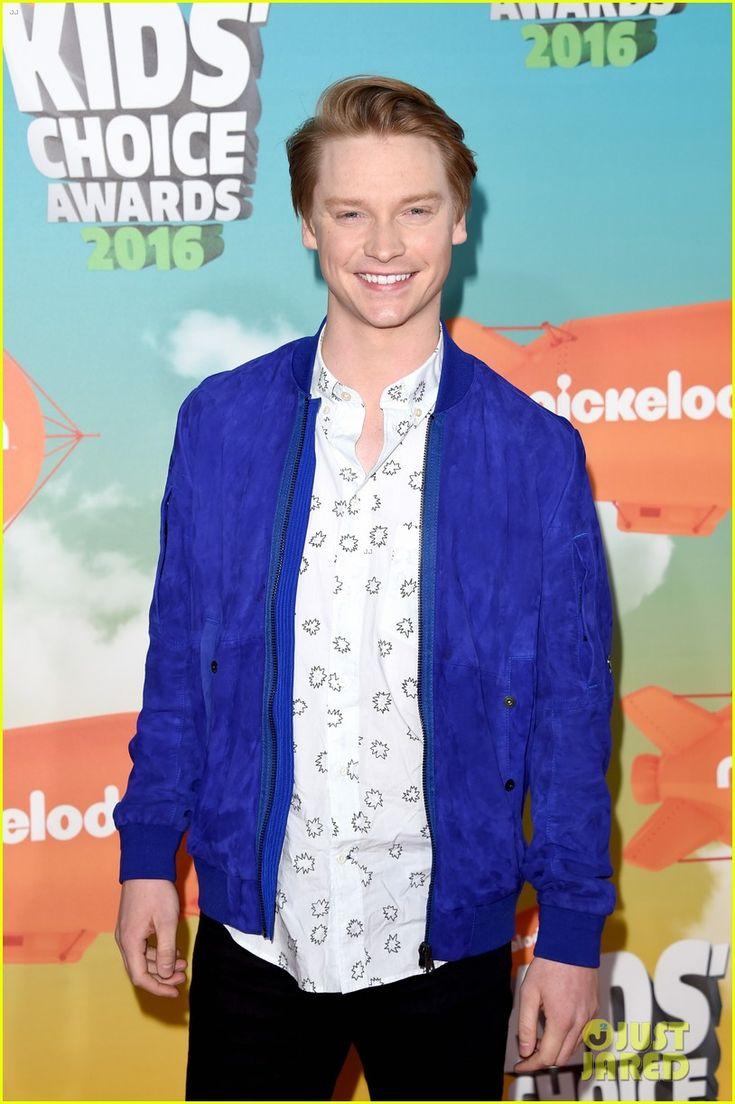 Calum Worthy at the Kids Choice Awards 2016