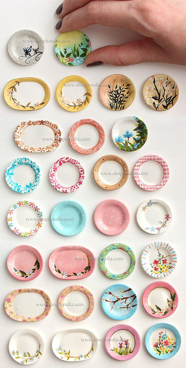 Miniature Painting - Plates 1 by thinkpastel.deviantart.com on @deviantART