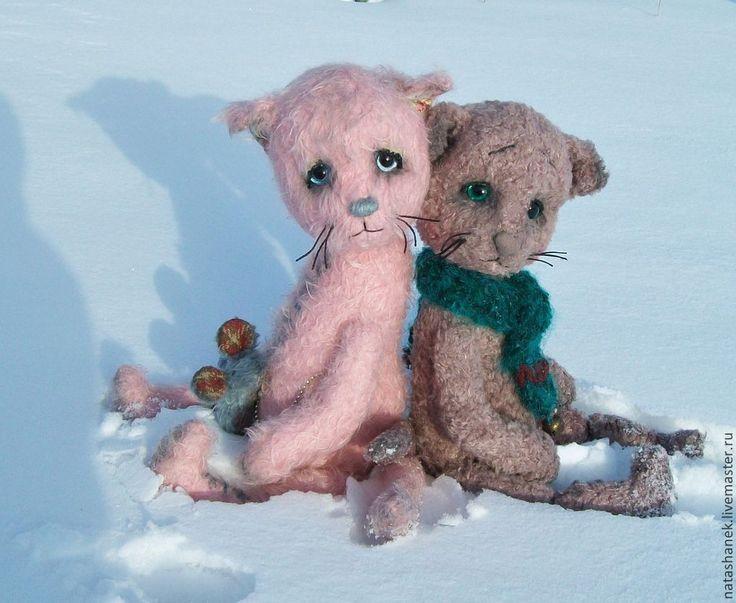 Софочка. Котенок тедди. - бледно-розовый,котенок тедди,тедди мишка,коллекционные медведи