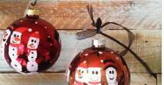 Weihnachtsbaumkugeln mit persönlicher Note zum Nachmachen Ich persönlich finde es immer schön, etwas selbstgemachtes zu verschenken, dass durchaus Anwendung findet. Ich rede hier also nicht von den schrecklich kitschigen Weihnachtspullovern, die Oma... #advent #weihnachten #weihnachtsbaumschmuck