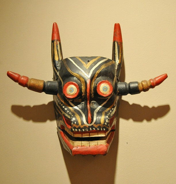 Devil Mask-Máscara  de Diablo, México by Teyacapan, via Flickr