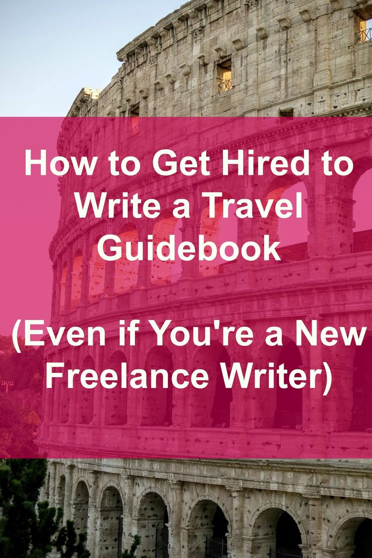 Want to get hired to write a travel guidebook? Even if you're a new freelance…