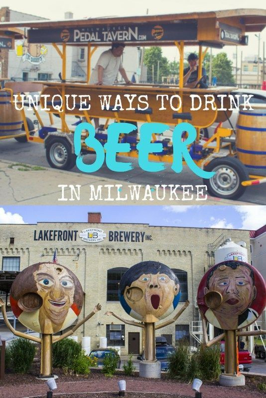 Unique Ways to Drink Beer in Milwaukee, Wisconsin
