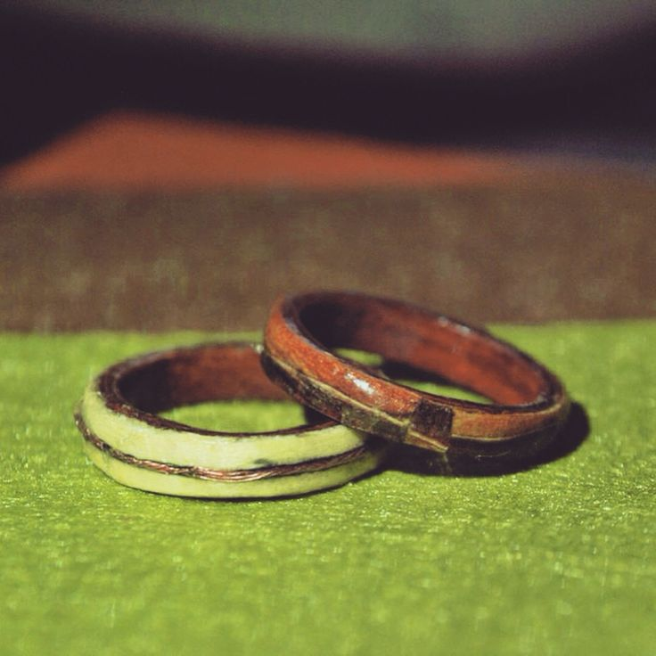 Made by my super talented boyfriend. First rings.