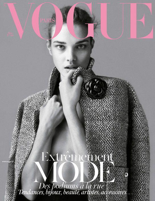 March 2012 Natalia Vodianova Vogue Paris - More lusciousness at http://mylusciouslife.com/vogue-magazine-covers-2000-2012/
