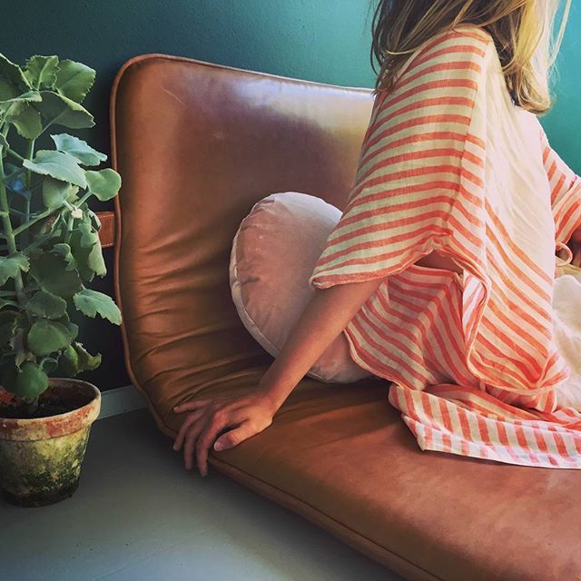 #them #bythornam #daybed #lounge #leather #handmade #danishdesign #design #christinalundsteen #slowliving