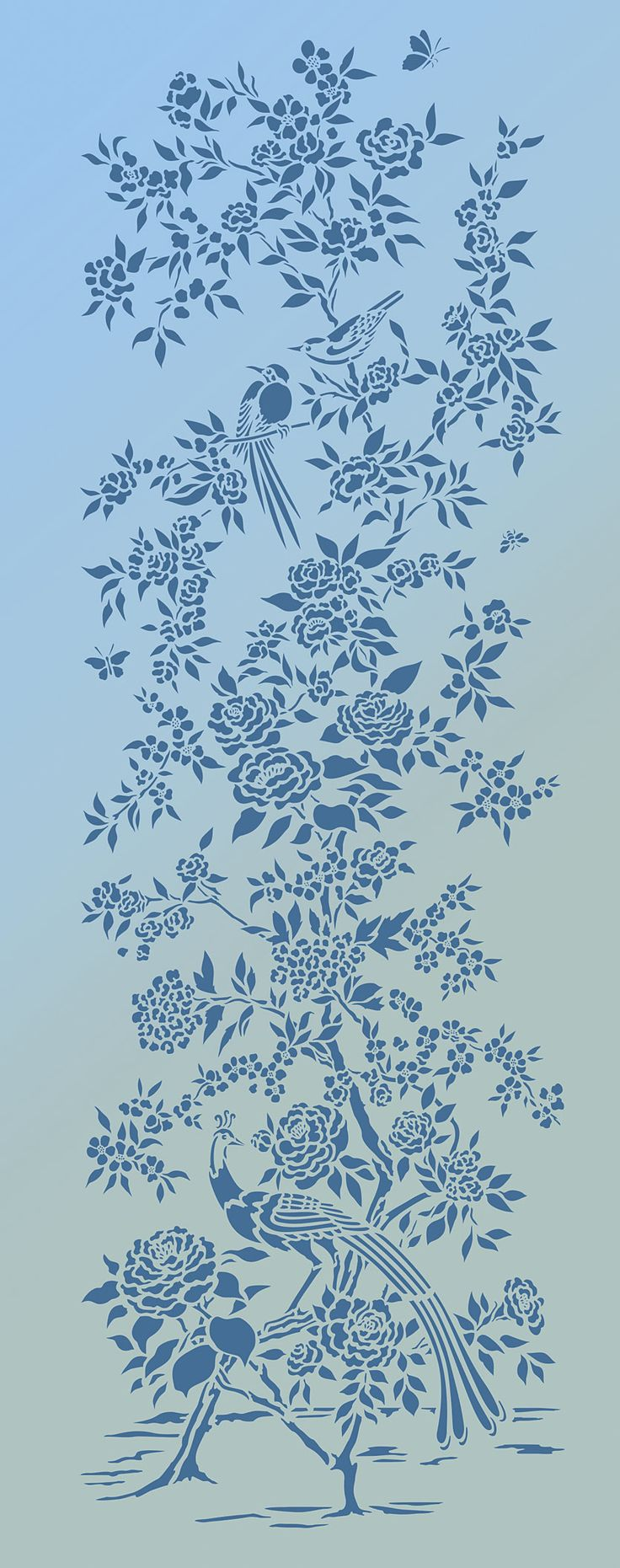513 best stencil images on pinterest sketches bird template and small chinoiserie stencil henny donovan motif stencil patternsstencil templatesstencil designspainting amipublicfo Images